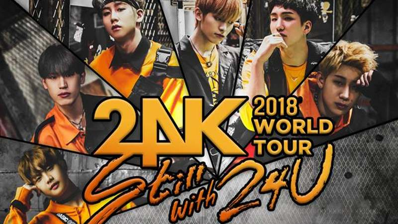 Artikel Bild - 24K 'Still with 24U' 2018 World Tour in Europa: Infos zum Ticket-Vorverkauf