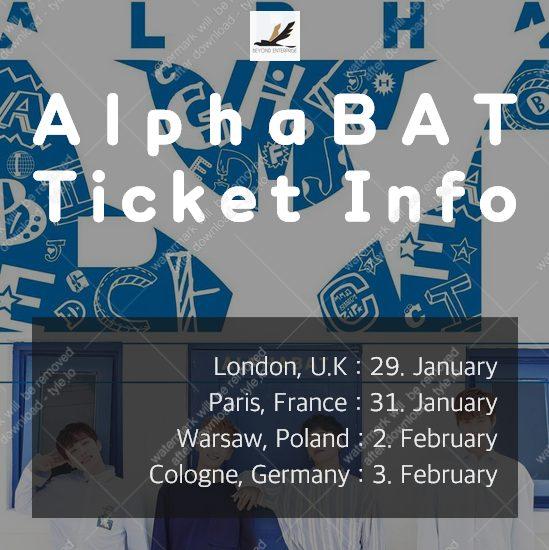 AlphaBAT aus Südkorea gehen 2018 erstmals auf Europatour und machen einen Halt in Deutschland.