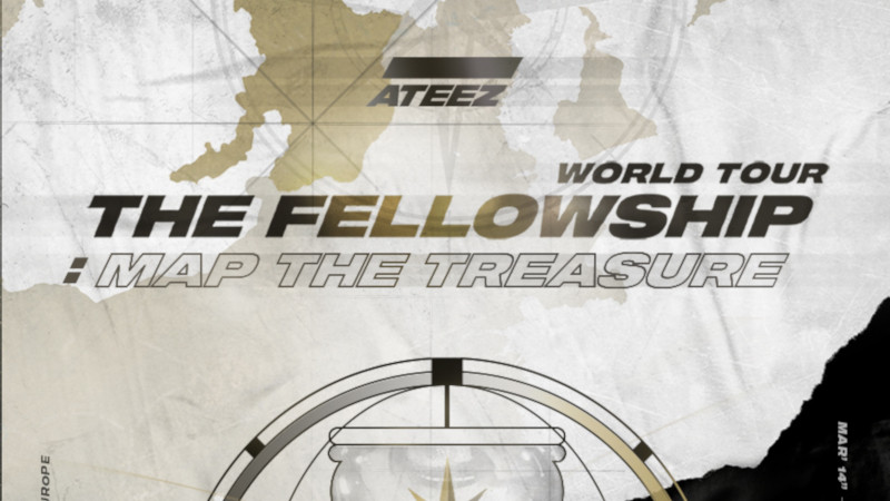 Artikel Bild - ATEEZ WORLD TOUR The Fellowship: Map The Treasure in Berlin