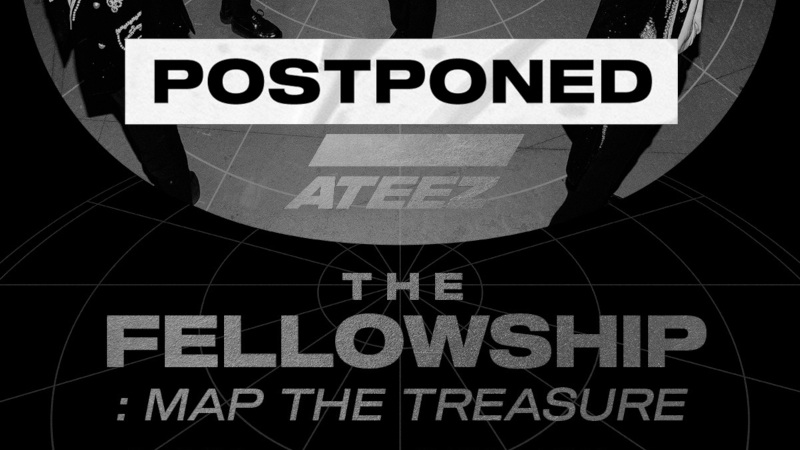 Artikel Bild - Verschoben: ATEEZ WORLD TOUR The Fellowship: Map The Treasure in Europe