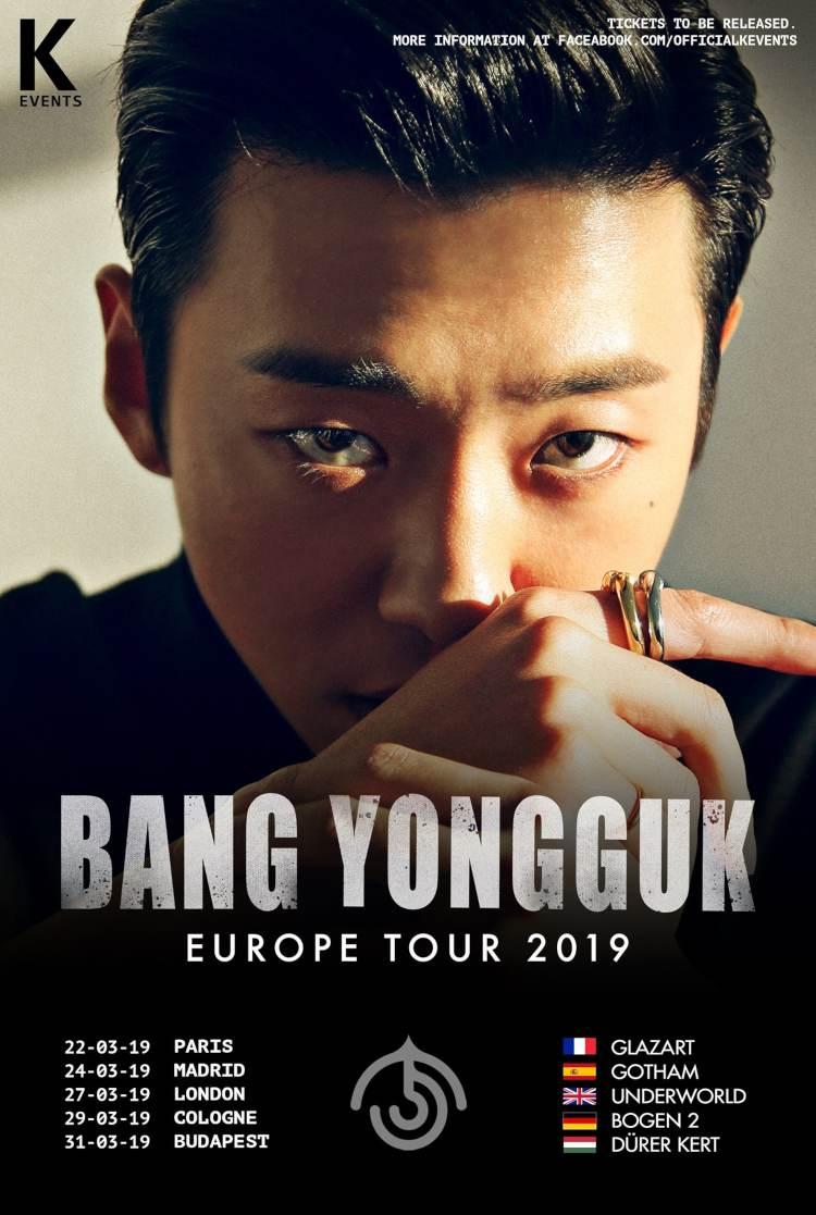 Bang Yongguk (''Hikikomori'', ehemaliger Leader von B.A.P) kommt mit seiner ''Bang Yongguk Europe Tour 2019'' nach Europa und Deutschland. Das Konzert in Köln ist restlos ausverkauft >> Otaji | Magazin für #KPop #KRock #JPop #JRock und #Mandopop