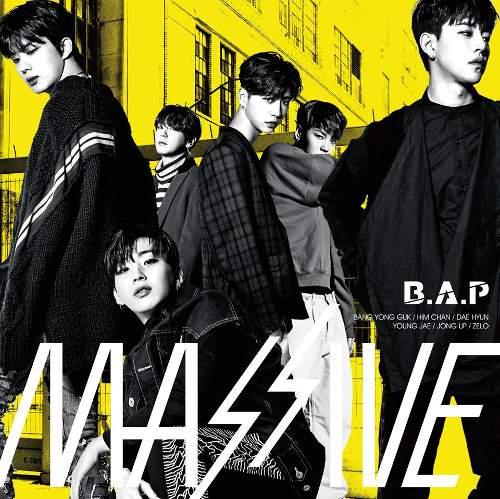 Cover zum Album MASSIVE von B.A.P.