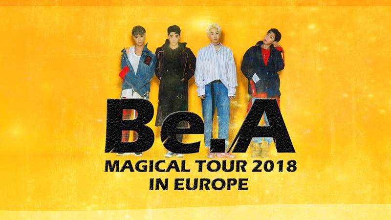 Artikel Bild - Be.A MAGICAL TOUR 2018 IN EUROPE nur noch in Köln!