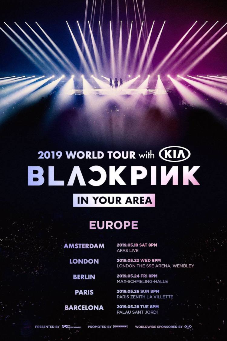 Die aus Südkorea stammende Girlgroup BLACKPINK (AS IF IT'S YOUR LAST) kommt mit ihrer BLACKPINK 2019 WORLD TOUR [IN YOUR AREA] im Mai 2019 nach Europa und Berlin, Deutschland! Tickets gibt es 01.02.2019 >> Otaji | #KPop #KRock #JPop #JRock #Mandopop