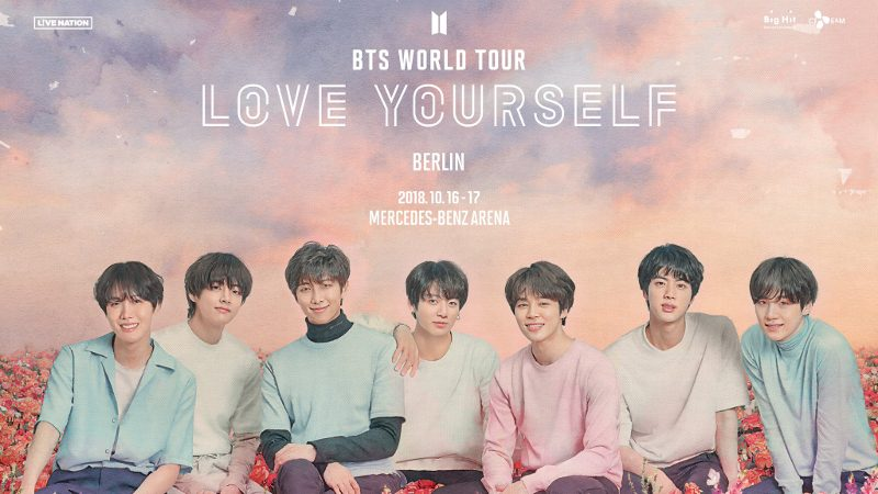 Artikel Bild - Ticketpreise der BTS WORLD TOUR 'LOVE YOURSELF'