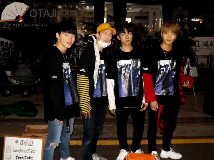 Busking in Hongdae mit Otaji