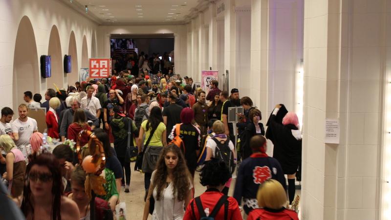 Otaji war zu Besuch auf der 15. Connichi des animexx e.V. im Kongress Palais in der Stadt Kassel.