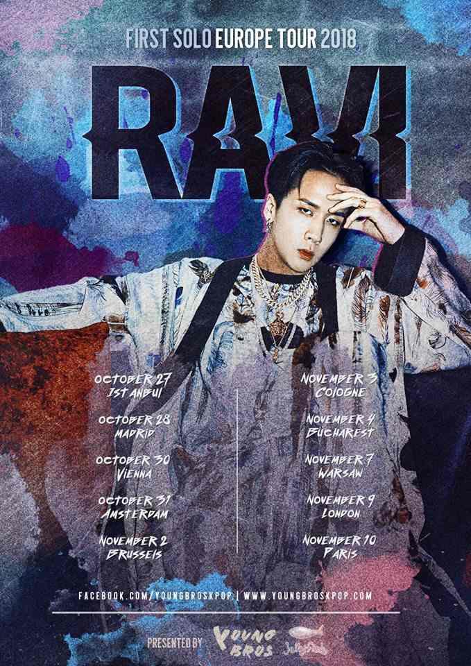 FIRST SOLO EUROPE TOUR 2018 RAVI im November in Deutschland