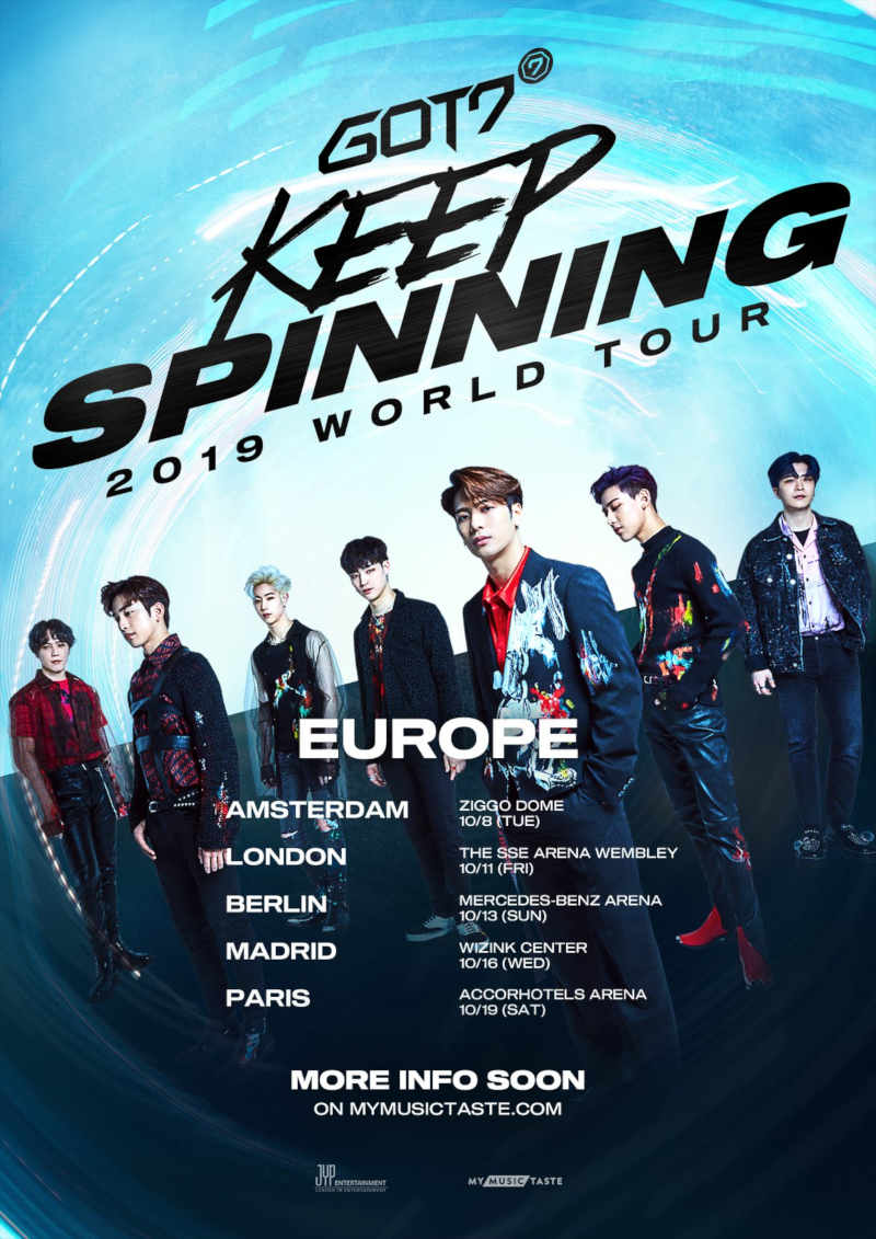 JYP Entertainment LIVE NATION (Deutschland)
