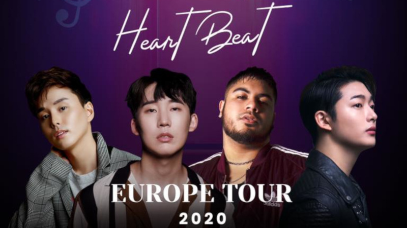 Artikel Bild - Heartbeat Europe Tour 2020 mit Dabit, David Oh, McKay und Lox