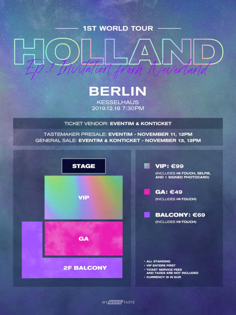 Holland 1ST WORLD TOUR Ep.1: Invitation from Neverland: Der als schwul geoutete K-Pop Sänger Holland (''Neverland'', ''Nar_C'') kommt mit seiner ersten Welttour am 18.12.2019 nach Berlin >> Otaji | #KPop #Pop #Schwul #LGBTQ #Berlin #Kesselhaus
