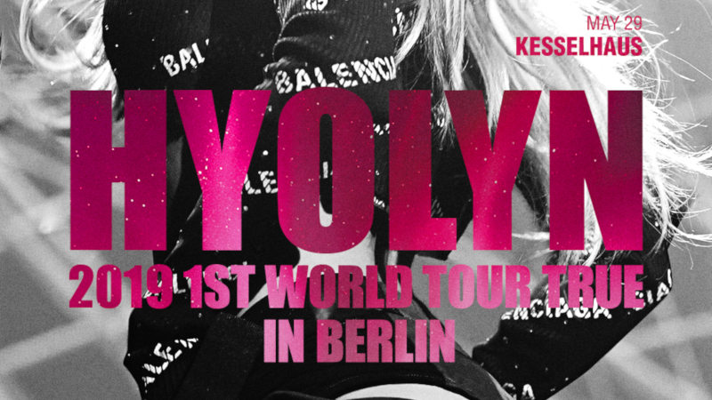 Artikel Bild - HYOLYN 2019 1ST WORLD TOUR [TRUE] IN EUROPE in Berlin