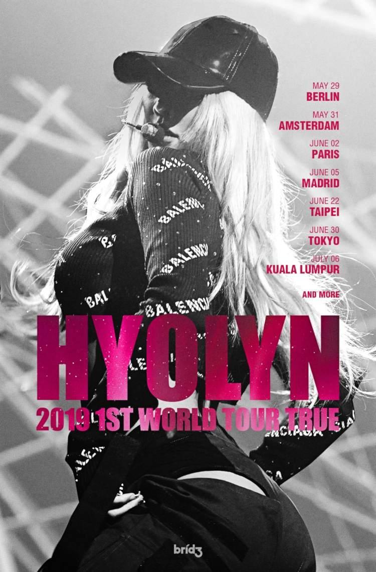 Hyolin (''BAE'', ehemaliges Mitglied bei SISTAR) kommt mit ihrer HYOLYN 2019 1ST WORLD TOUR [TRUE] im Mai und Juni 2019 nach Europa und Deutschland (Berlin) >> Otaji | Magazin für KPop + KRock + JPop + JRock + Mandopop und asiatische Musik