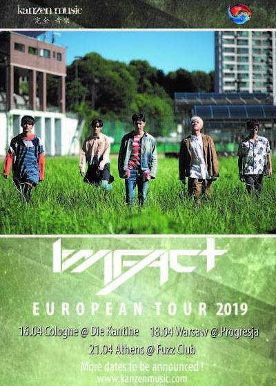 +++ EXKLUSIV +++ Kanzen Music präsentiert in diesem Jahr wieder eine Tour: IMFACT bereisen im April dieses Jahres mit ihrerIMFACT European Tour 2019 unseren Kontinent und kommen nach Deutschland >> Otaji | #KPop #KRock #JPop #JRock #Mandopop