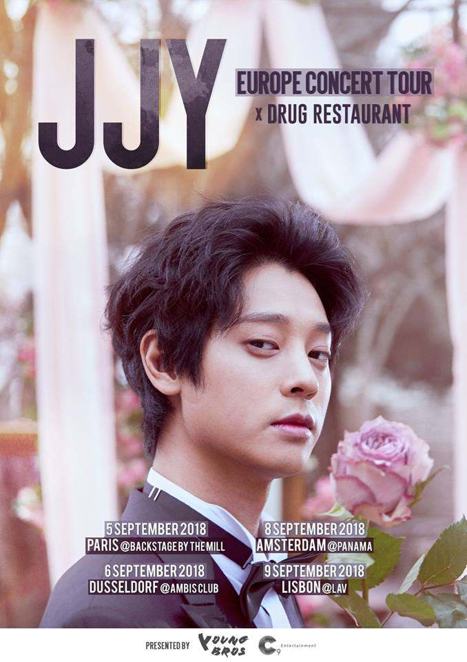 JJY x Drug Restaurant Europe Concert Tour 2018 in Deutschland