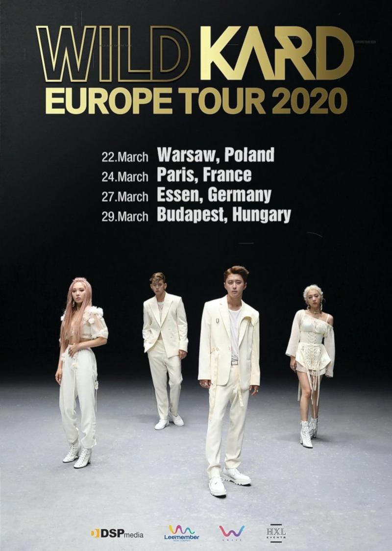 KARD (''Oh NaNa'', ''Bomb Bomb'') kommen mit ihrer ''WILD KARD Europe Tour 2020'' im März 2020 nach Europa und Deutschland: KARD - 27.03.2020 - Weststadthalle - Essen. Tickets ab 03.02.2020 >> OTAJI | #KPop #VISUALCULTURE #KARD #DSPMedia #카드 #Konzert