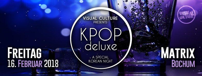 Im Februar 2018 findet die erste Kabuki RockStyle x KPOP deluxe Party des Jahres statt.