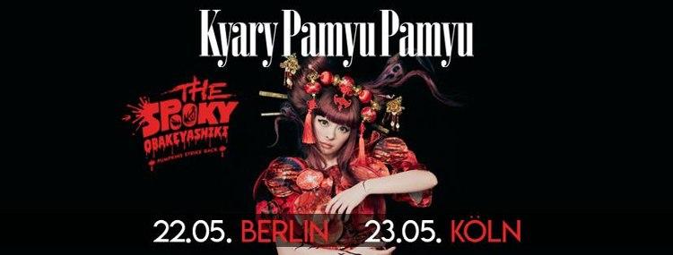 """Die deutschen Termine der """"The Spooky OBAKEYASHIKI""""-Tour von KYARY PAMYU PAMYU."""