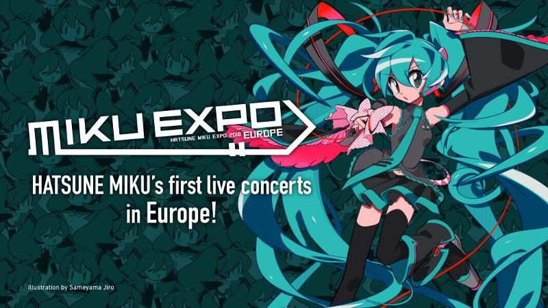 Die MIKU EXPO Kommt 2018 Erstmals Nach Europa Und Findet Im Dezember Auch In Deutschland