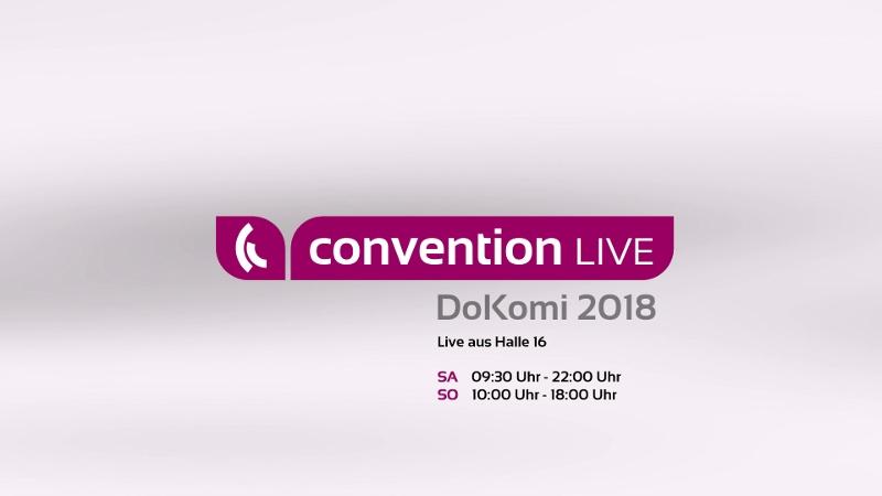 Moonflow sendet live von der DoKomi