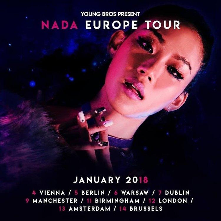YOUNG BROS gehen mit der südkoreanischen Sängerin NADA auf Tour und beehren dabei Deutschland.