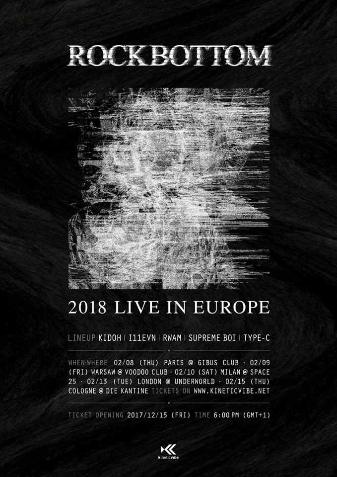 Die ROCKBOTTOM-Crew kommt im Februar 2018 mit ihrer Europa-Tour auch nach Deutschland.