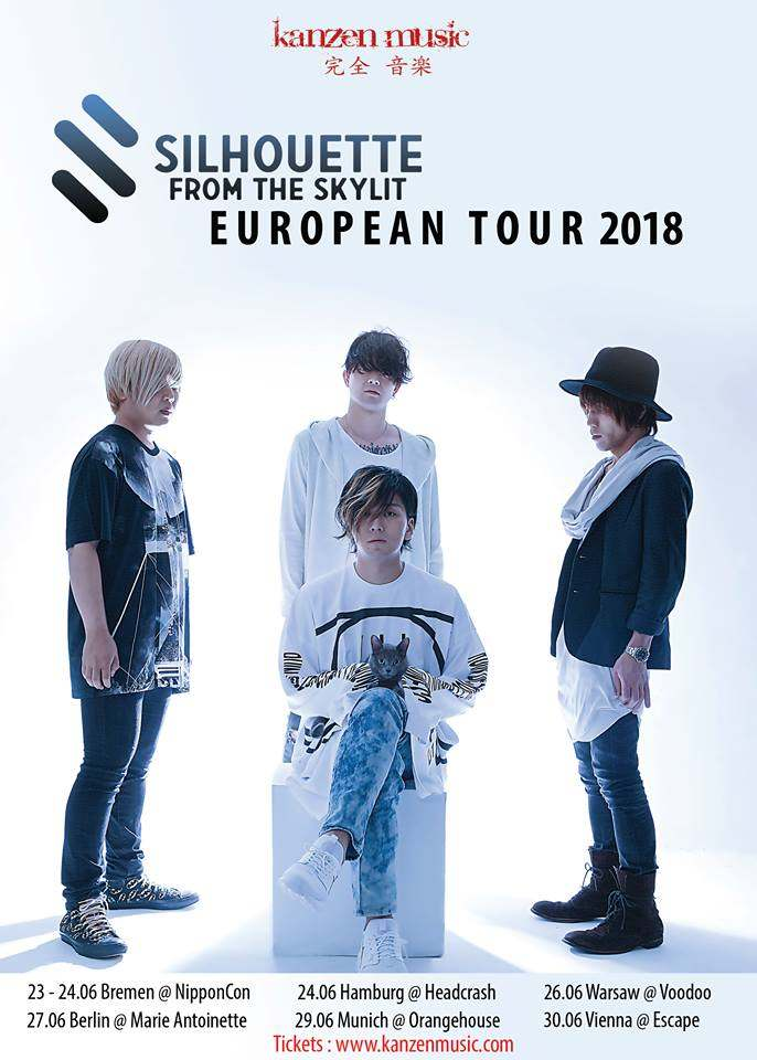 Silhouette from the Skylit European Tour 2018: weitere Konzerte in Deutschland