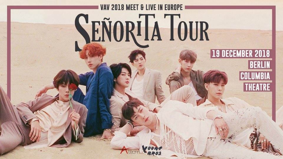 Artikel Bild - VAV 2018 MEET & LIVE IN EUROPE : SENORITA TOUR in Essen uns Berlin
