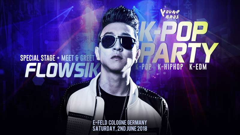 Artikel Bild - Flowsik in Europe x YOUNG BROS auch in Deutschland